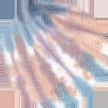 Tie&Dye Teal Monstera/Lilac Petal